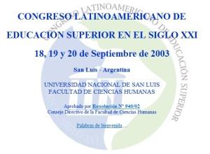 congreso san luis 2003