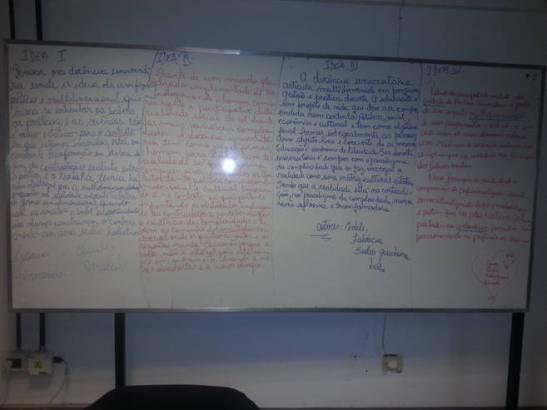 Actividad académica realizada por los alumnos en el seminario de Intgración a cargo del Dr Fernando Nápoli