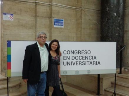 El Dr. Fernando Pablo Nápoli junto a la Dra Mónica Marquina